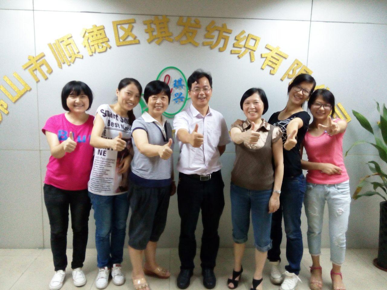 江西工业职业技术学院纺织专业老师回访