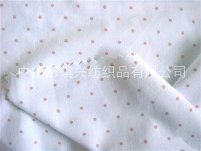 仿活性印花——棉布印花面料