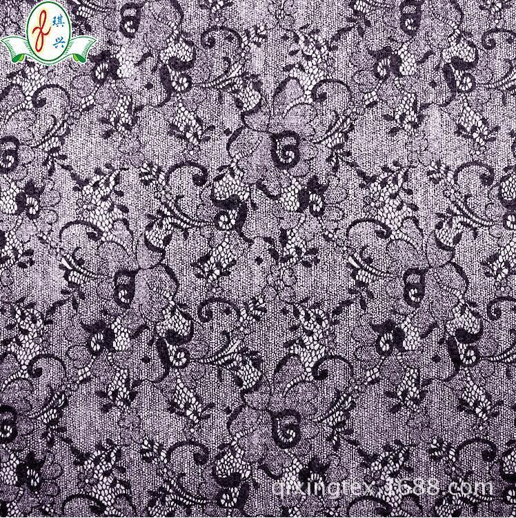 超薄细涤纶网眼布料  印花系列内衣用网布