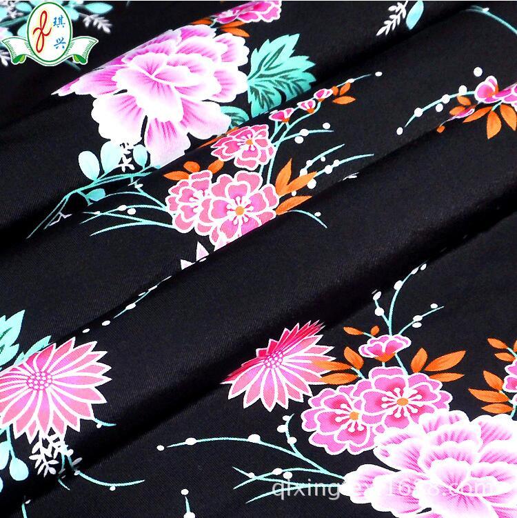 花朵印花男女士超细内衣裤面料