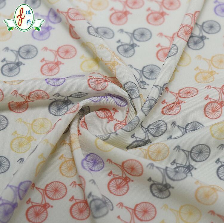 20D纱支超细纺织面料 薄细内衣用布印花